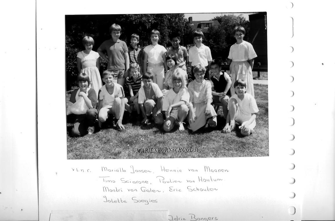 Marienbornschool foto