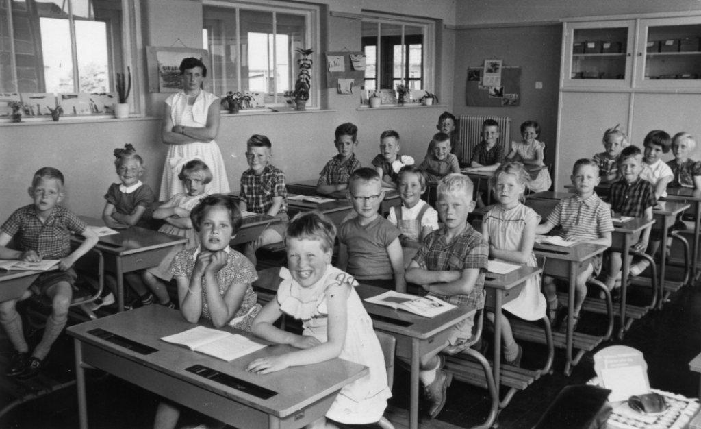 openbare lagere school foto