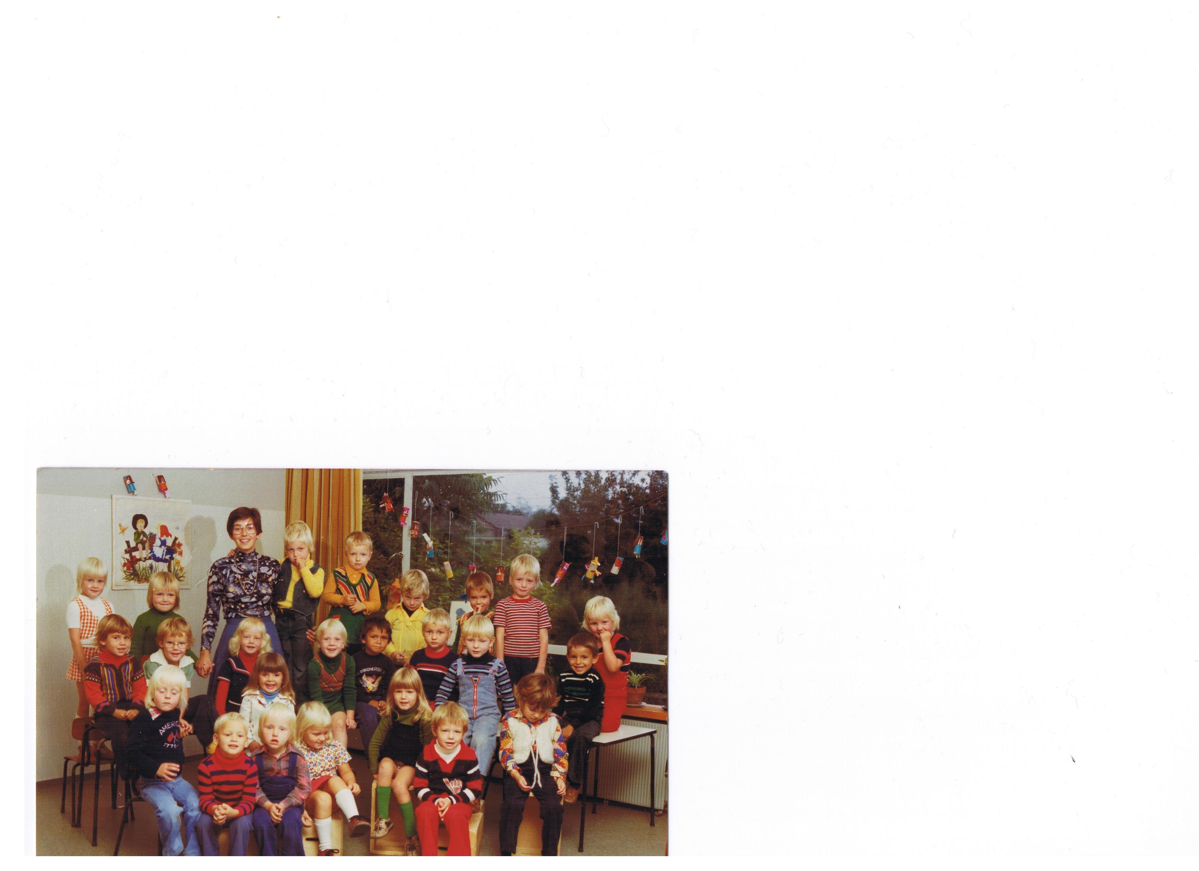 kleuterschool roodkapje foto