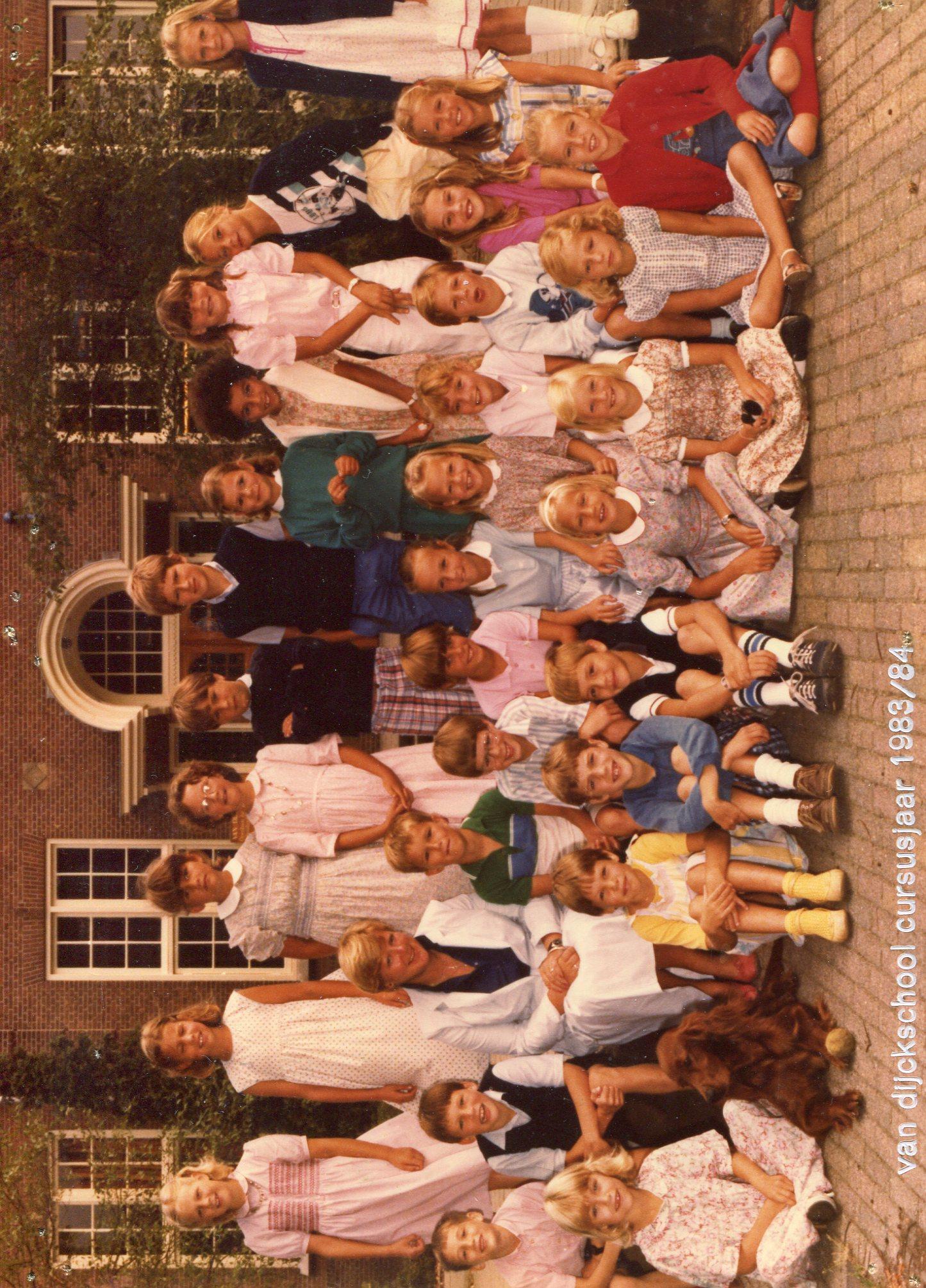 Van Dijckschool foto