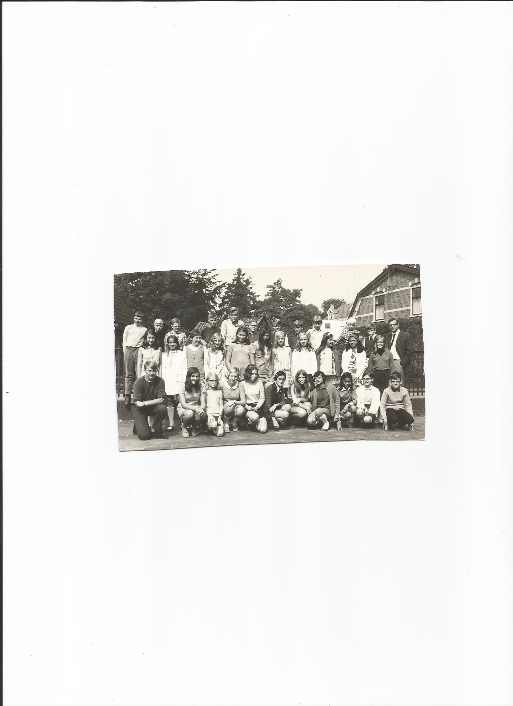 Koningin Wilhelminaschool voor Chr. Mulo foto